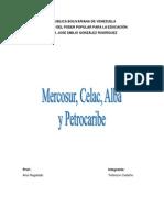 Mercosur Celac Alba Petrocaribe