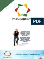 presentacion WAKEUPNOW