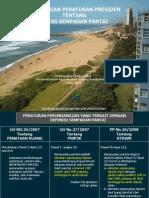 Rancangan PERPREs tentang Batas Sempadan Pantai