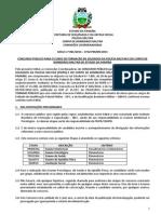 Edital PM - PB 2014