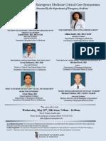 The 3rd Annual Critical Care Symposium