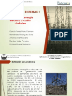 Presentación. Optimizacion de Transporte de Energía Electrica