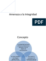 Amenaza a La Integridad y Prevencion