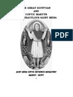St Mina biography