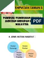 tumbuhan dan hidupan liar di malaysia