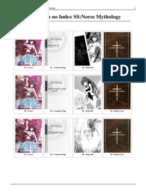 Toaru Majutsu No Index SS-Norse Mythology   Magic (Paranormal)