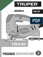 Instructivo Caladora (Cala-A3)