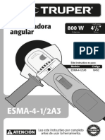 Instructivo Esmeril Angular (Esma 41-2 a3)