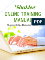 Online Training Manual