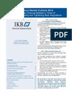 Deutsche Industriebank German Market Outlook 2014 Mid Cap Financial Markets in Times of Macro Uncertainty and Tightening Bank Regulations