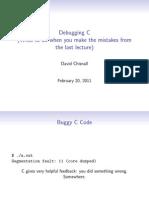 6 Debugging c