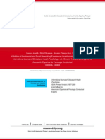 (Articulo en Ingles) (2013) Validación Del Cuestionario de Las Experiencias de Internet y Las Redes Sociales en Adolescente Españoles