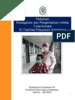 Pedoman PPI Tuberkulosis Tahun 2012