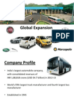 TATA Motors Global Expansion