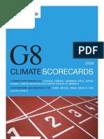 Climate Scorecards -G8yG5- WWF