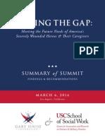Gary Sinise Foundation report