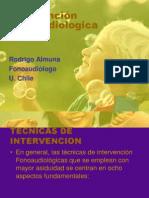Clase 5 Intervención Fonoaudiologica en TEL