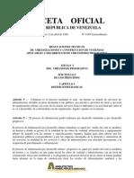 Regulacion Tecnica de Urbanizaciones y Construcciones de Viviendas