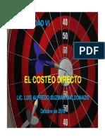 Presenta Costeo Directo 2012 (1)