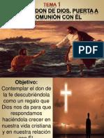 1-La Fe Como Don de Dios Adultos