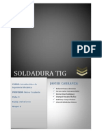 Soldadura Tig