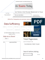 Data Sufficiency Questions, Tips and Method _ Bank Exams Today