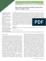 Johnson Et Al 2014 Plasticidad Fenotipica Mortandad Selectiva Peces Variacion