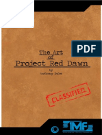 The Art Of Project Red Dawn