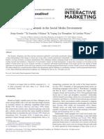 jurnal Managing Brands in the  Social Media Environment