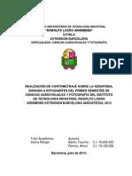Anteproyecto Metodologia de Conocimiento Cientifico. Ver. 0.1