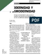 07. Posmodernidad. Modernidad y Posmodernidad. Abdón Ubidia