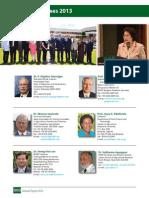 IRRI AR 2013 Board of Trustees 2013