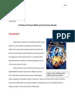 snow white evaluation