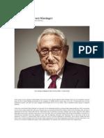 In Defense of Henry Kissinger