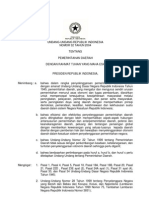UU No. 32 Tahun 2004 ttg Pemerintahan Daerah