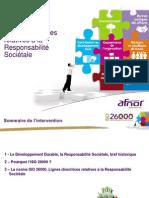 Présentation ISO26000 et diagnostic 360° par AFNOR Certification - 1109