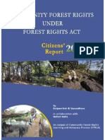 Community Forest Rights Under FRA Citizens Report 2013