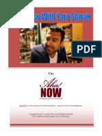 FREE Money Making Blogging Strategies Interview With Yaro Starak at Aha!NOW