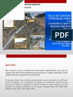 Presentación Del Plan de Gestion Integrada