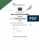 The Transition County Allocation of Revenue Bill 2012