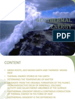Geothermal Energy 4110007007