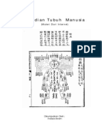 Buku Meridian Tubuh Manusia Buku Kecil -Libre