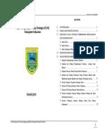 Kajian Lingkungan Hidup Strategis (Klhs) Kabupaten Kebumen