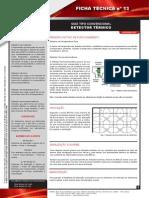 Ficha Tecnica Nº 13 Detector Termico