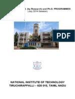 Nitt Phd July 2014