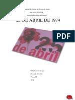 25 de ABRIL Alexandra Carvalho 6º F