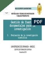 2010-Jimenez Contreras, E-Gestion de Fuentes Documentales Para La Investigacion