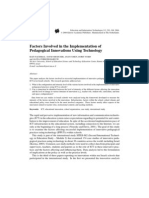 Pedagogical Planning