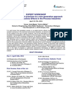 Workshop Domino Effects Program&Registration