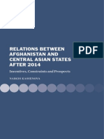 Relations between Afghanistan and Central Asian states after 2014